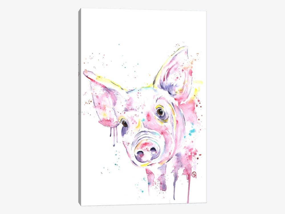 This Little Piggy by Lisa Whitehouse 1-piece Art Print