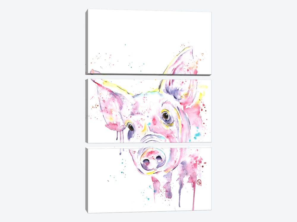 This Little Piggy by Lisa Whitehouse 3-piece Art Print