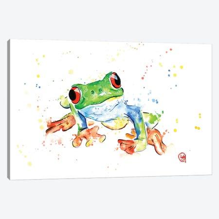 Tree Frog Canvas Print #LWH47} by Lisa Whitehouse Art Print