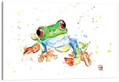 Tree Frog Canvas Art Print