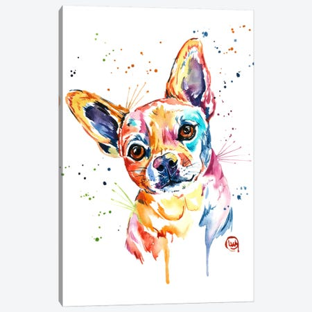 Tucker Canvas Print #LWH48} by Lisa Whitehouse Canvas Art