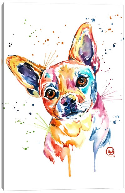 Tucker Canvas Art Print