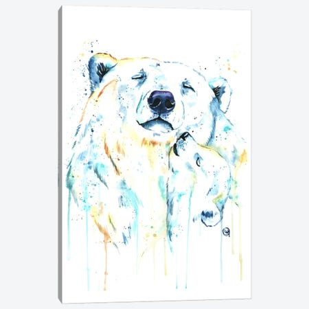 Unconditional Love Canvas Print #LWH49} by Lisa Whitehouse Canvas Artwork