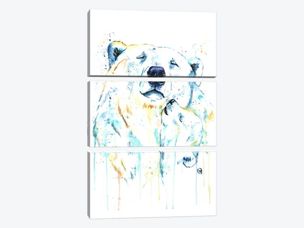 Unconditional Love by Lisa Whitehouse 3-piece Canvas Artwork