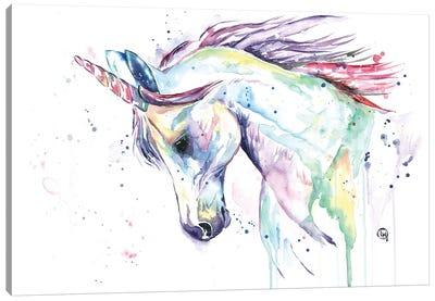 Kenzie's Unicorn Canvas Art Print