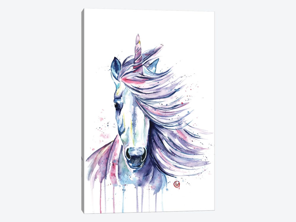 Unicorn by Lisa Whitehouse 1-piece Canvas Art