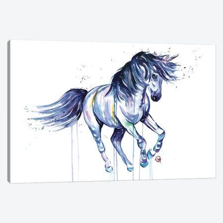 Unicorn Dreams Canvas Print #LWH59} by Lisa Whitehouse Canvas Art Print