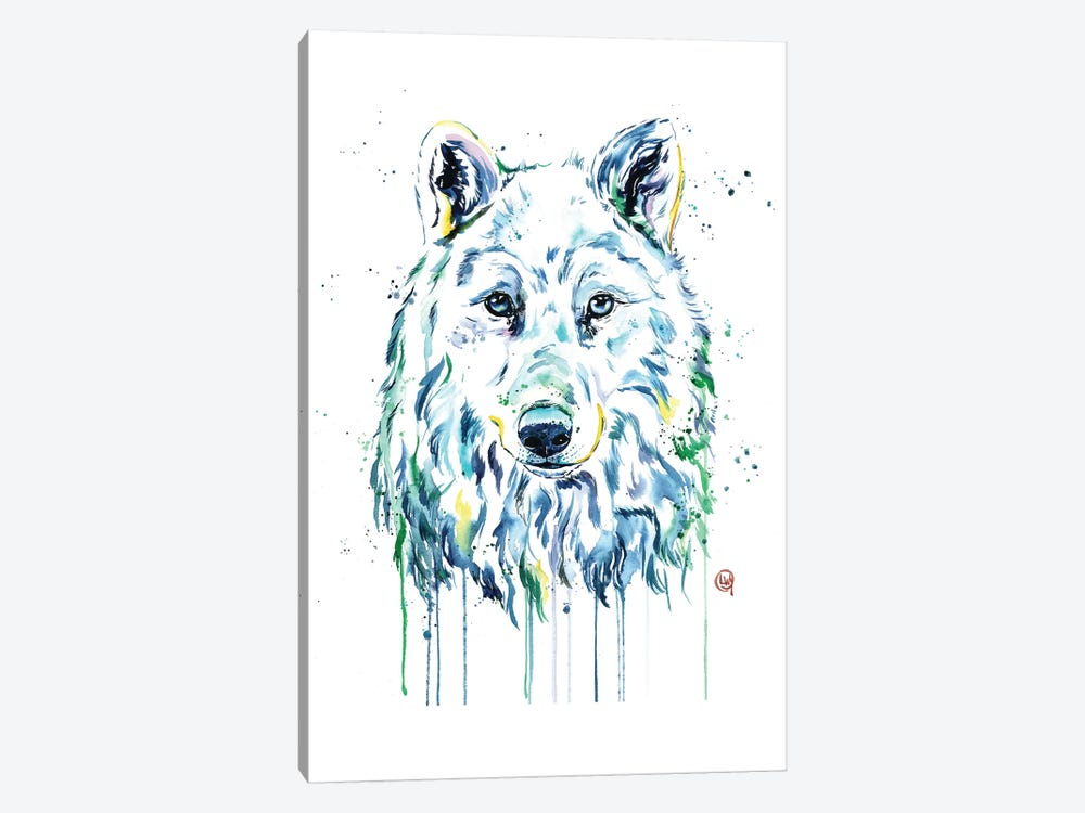 Wolf by Lisa Whitehouse 1-piece Art Print