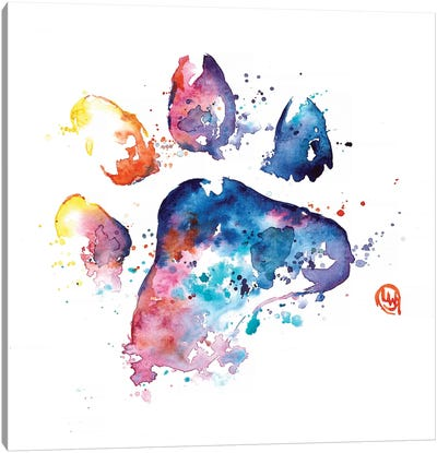 A Paw To Remember Canvas Art Print