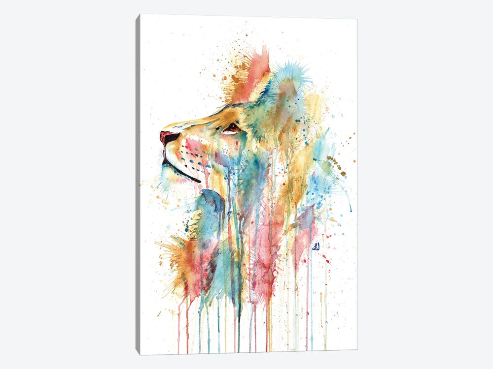 Aslan The Lion Canvas Art Print by Lisa Whitehouse | iCanvas
