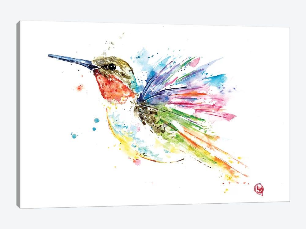Ruby Hummingbird by Lisa Whitehouse 1-piece Art Print