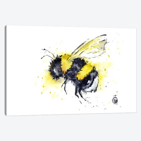 Buzz Canvas Print #LWH8} by Lisa Whitehouse Canvas Wall Art