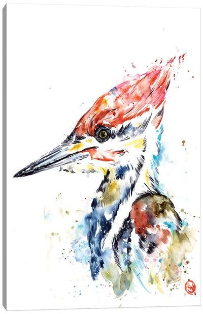 Woodpecker Canvas Art Print