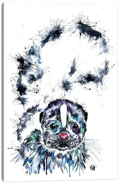 Skunk Baby Canvas Art Print