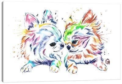 Chihuahua Love Canvas Art Print