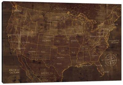 United States Canvas Print #LWI100
