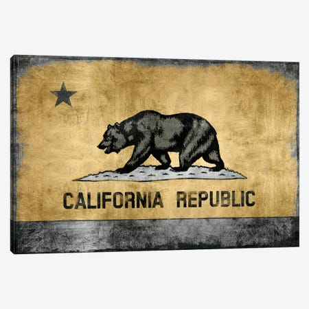 Golden State Canvas Print #LWI10} by Luke Wilson Canvas Art