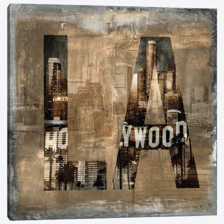 LA Revealed Canvas Print #LWI15} by Luke Wilson Canvas Art Print