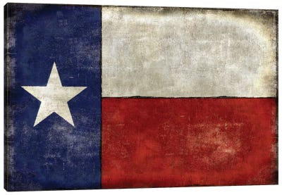 Lone Star Canvas Art Print