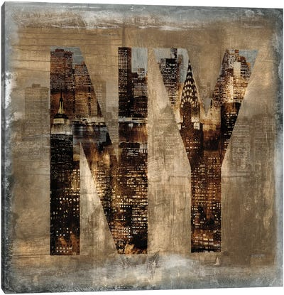 NY Revealed Canvas Art Print