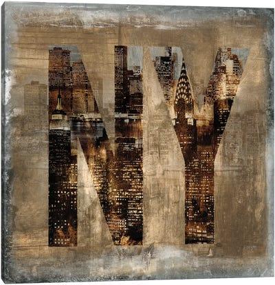 NY Revealed Canvas Art Print