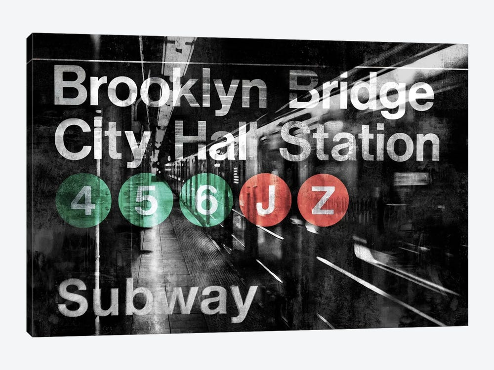 NYC Subway Station I by Luke Wilson 1-piece Art Print