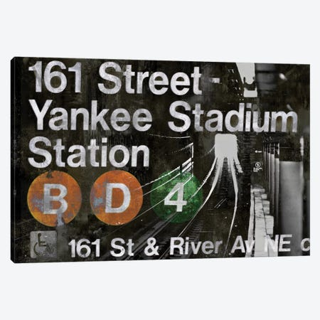 NYC Subway Station II Canvas Print #LWI24} by Luke Wilson Canvas Art