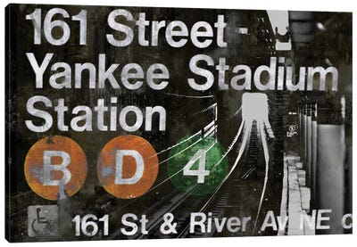 NYC Subway Station II Canvas Art Print