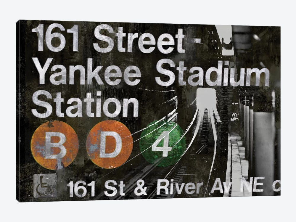 NYC Subway Station II by Luke Wilson 1-piece Canvas Art