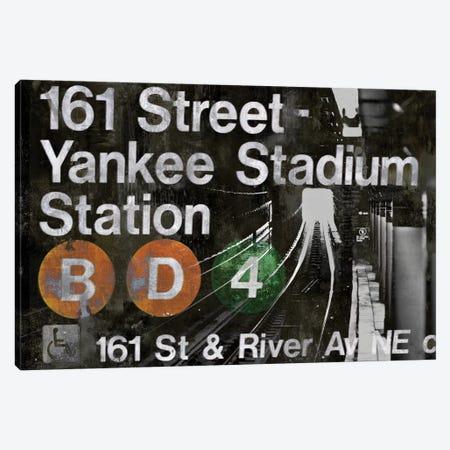 NYC Subway Station II Canvas Print #LWI24} by Luke Wilson Canvas Art