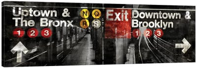 NYC Subway Station III Canvas Print #LWI25