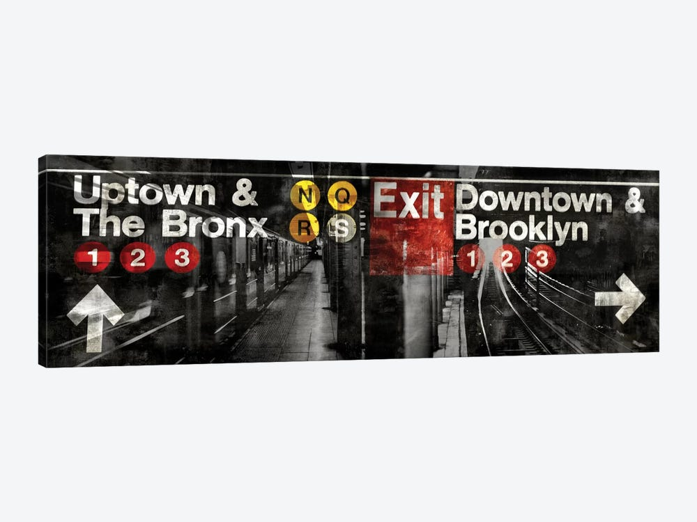 NYC Subway Station III by Luke Wilson 1-piece Canvas Print