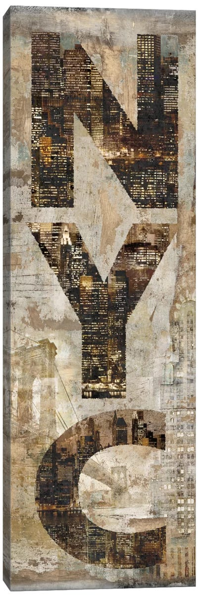 NYC Vertical Canvas Print #LWI26