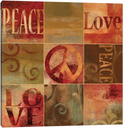 Peace Sign Canvas Art Print
