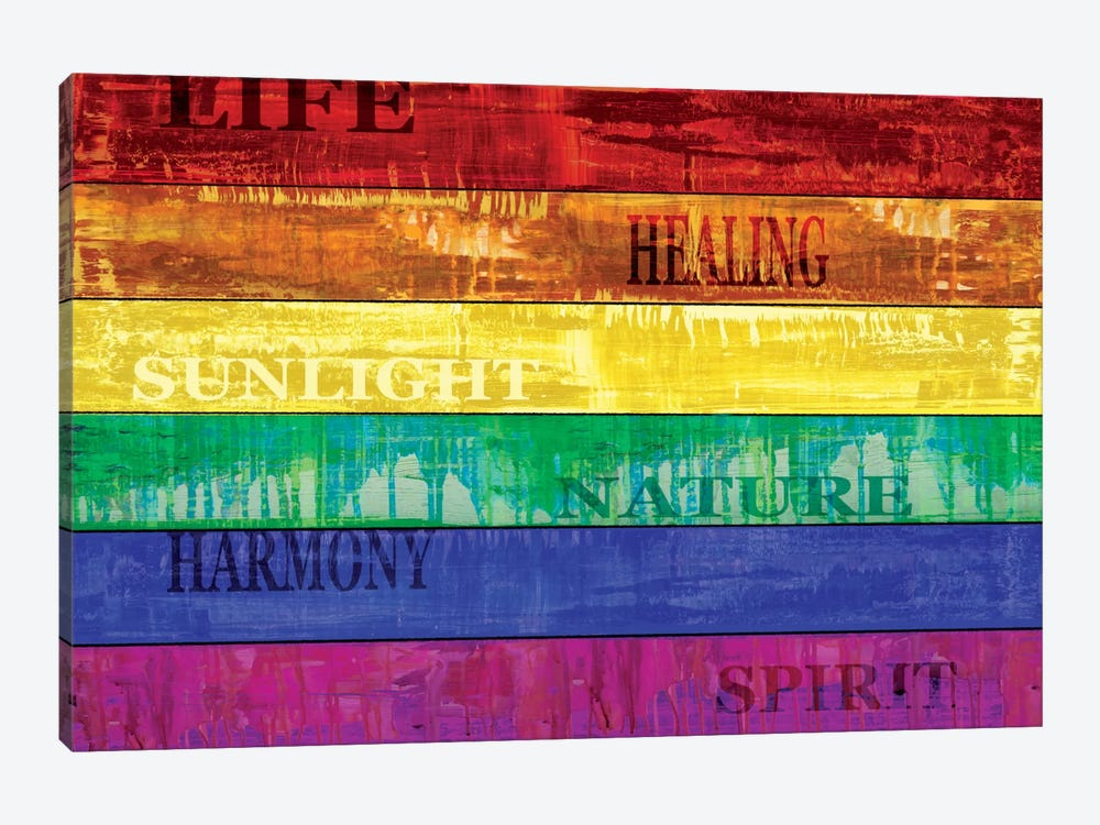 Pride 1-piece Canvas Art Print