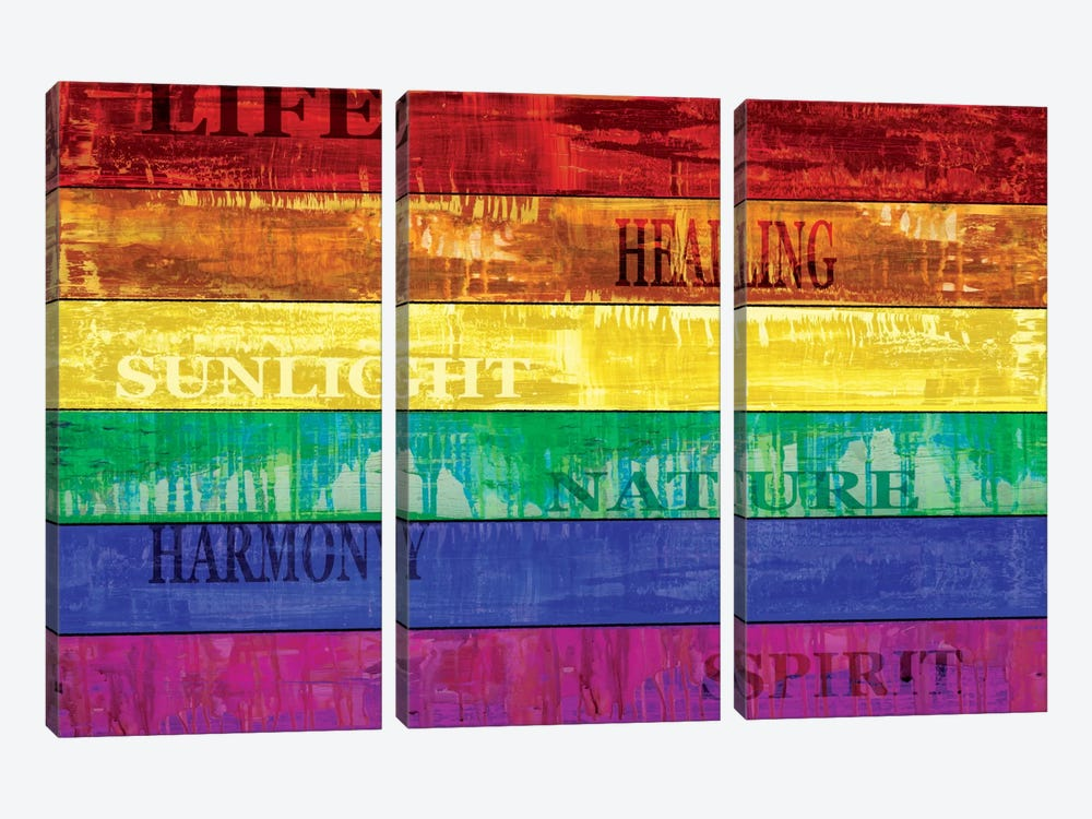 Pride by Luke Wilson 3-piece Canvas Print