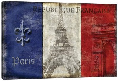 Republique Francaise Canvas Art Print