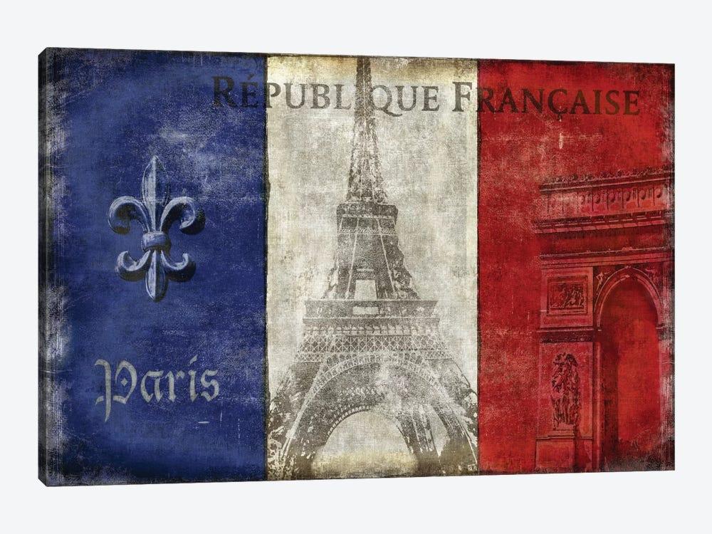 Republique Francaise by Luke Wilson 1-piece Art Print
