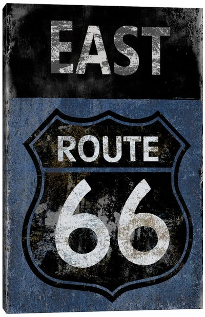 Route 66 East Canvas Art Print