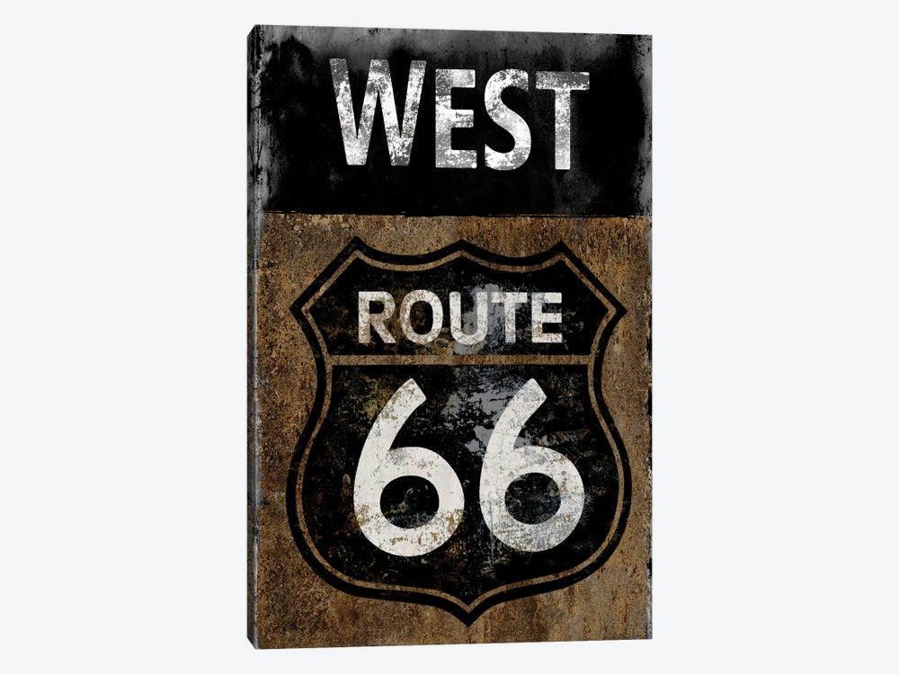 Route 66 West by Luke Wilson 1-piece Art Print