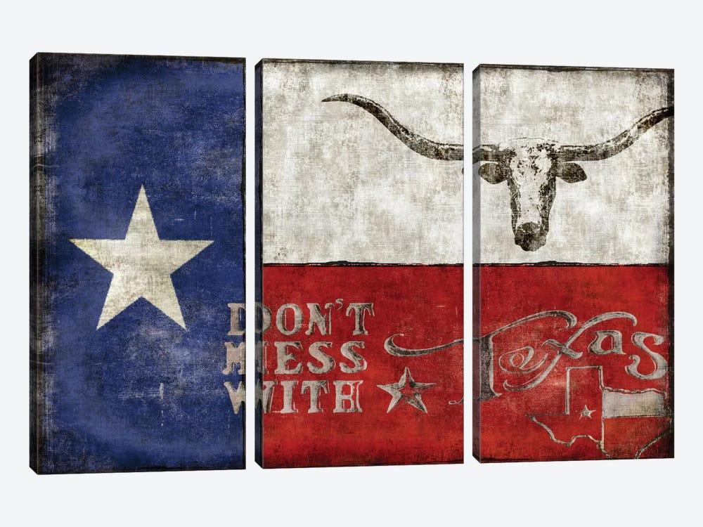 Texas Proud by Luke Wilson 3-piece Canvas Print