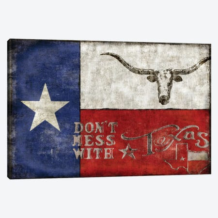 Texas Proud Canvas Print #LWI38} by Luke Wilson Canvas Art