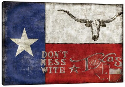 Texas Proud Canvas Art Print
