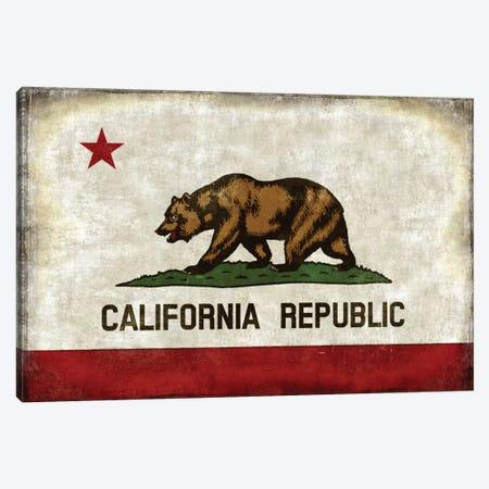 The California Republic Canvas Print #LWI39} by Luke Wilson Canvas Art