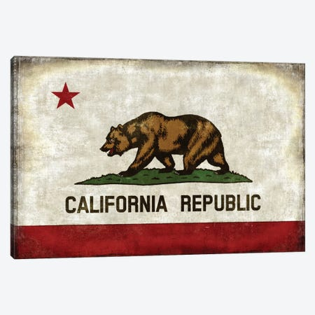 The California Republic Canvas Print #LWI39} by Luke Wilson Canvas Art