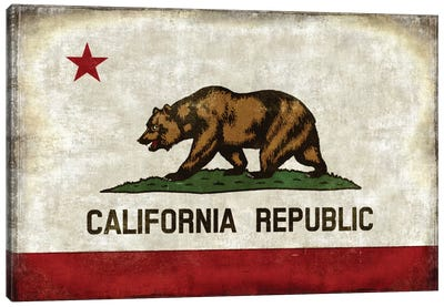 The California Republic Canvas Art Print