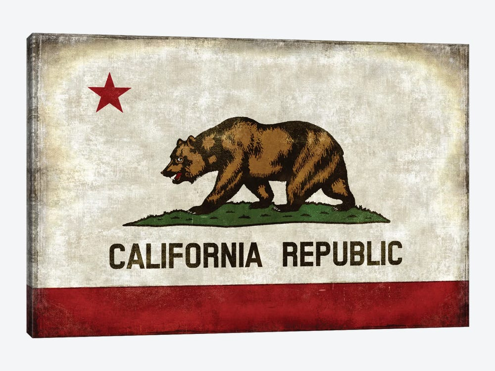 The California Republic by Luke Wilson 1-piece Canvas Artwork