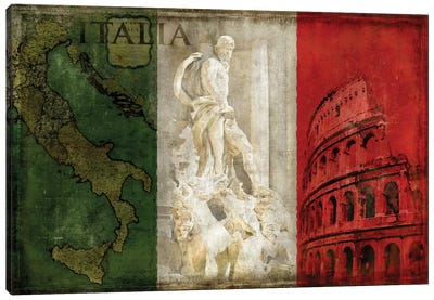 Brava Italia Canvas Art Print