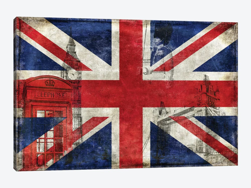 The English Way by Luke Wilson 1-piece Canvas Artwork