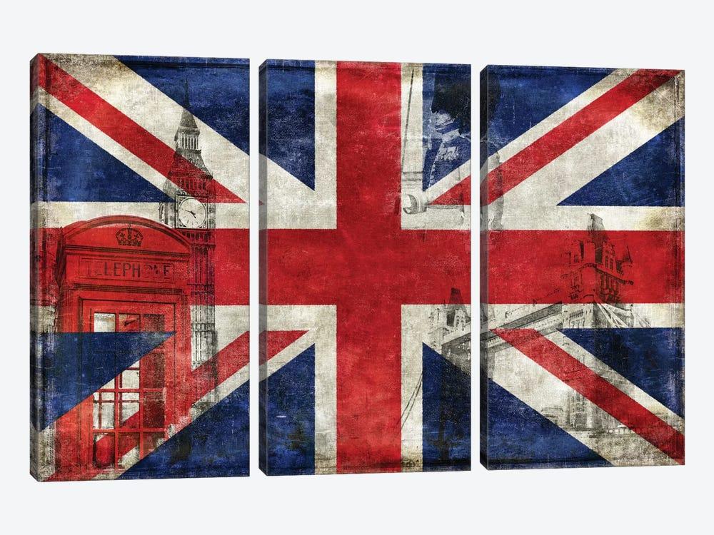 The English Way by Luke Wilson 3-piece Canvas Wall Art